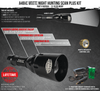 Wicked Lights A48iC White Scan Plus Night Hunting Light Kit for coyotes, hogs, and predators
