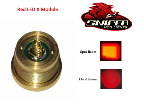 Red LED X Module