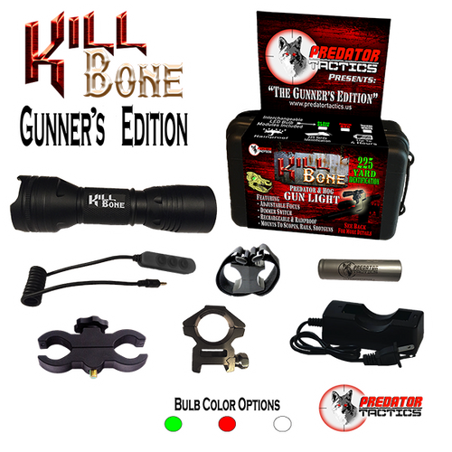 Predator Tactics: Kill Bone's Gunner's Edition (Triple LED Kit)