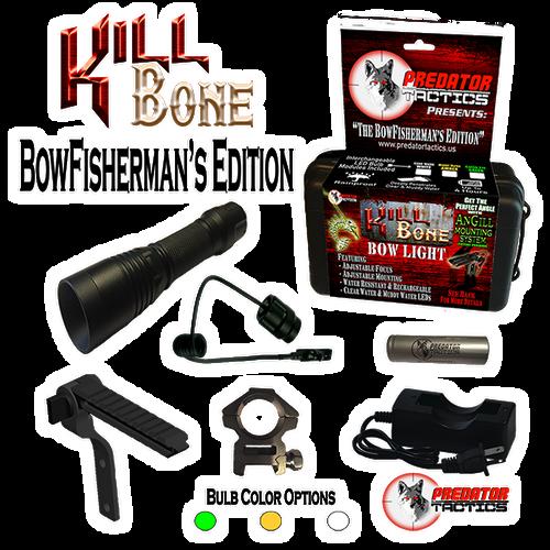 Predator Tactics: KillBone BowFisherman's Edition (Triple LED Kit)