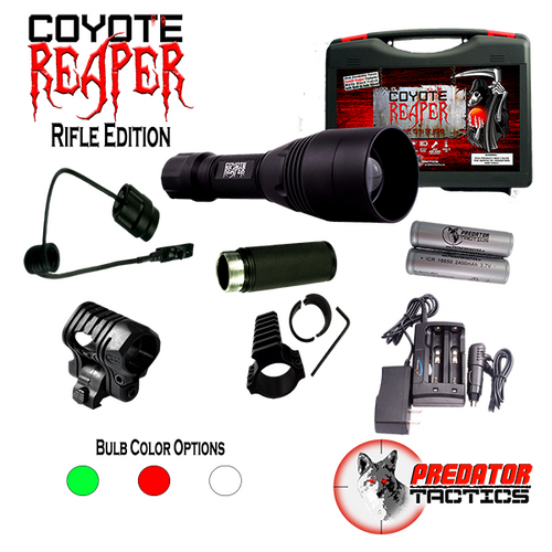 Predator Tactics: Coyote Reaper-Rifle Edition (RED/GREEN/WHITE LED)