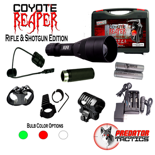 Predator Tactics: Coyote Reaper- Rifle & Shotgun Edition (GREEN/RED/WHITE)