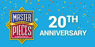 MasterPieces Puzzle Company celebrates their 20th Anniversary with exciting new Brand Partnerships for 2015