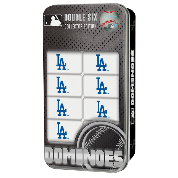 Los Angeles Dodgers Dominoes Double Six