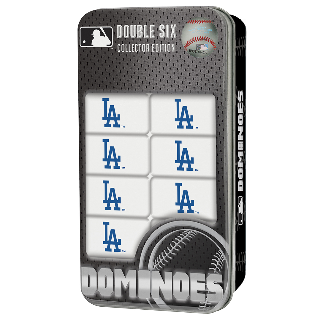 Los angeles dodgers dominoes double six mlb los angeles dodgers buycottarizona Image collections