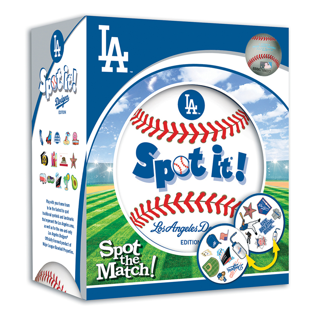La dodgers spot it card game mlb los angeles dodgers buycottarizona Image collections