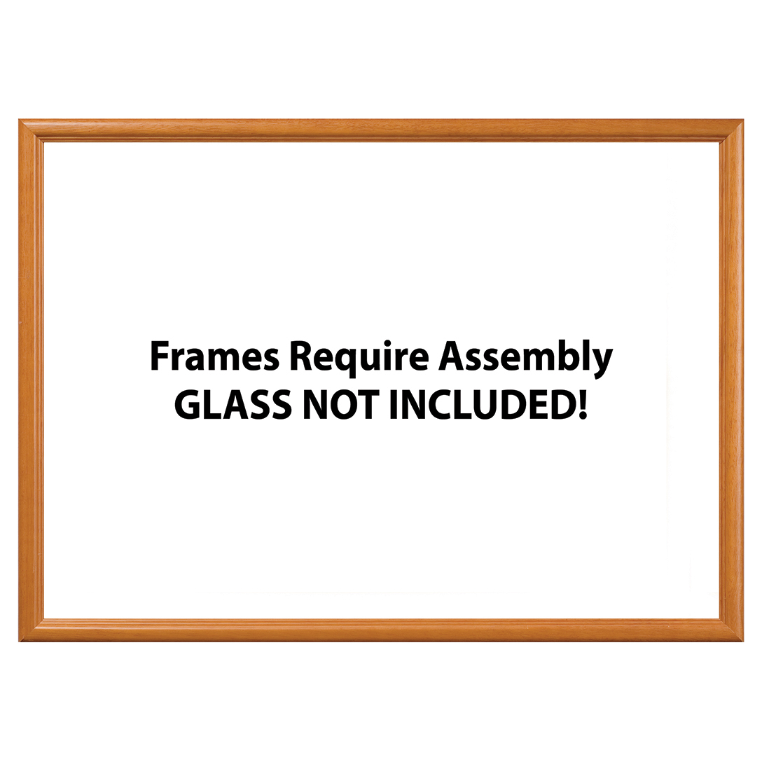 Wood Jigsaw Puzzle Frame (19-1/4\