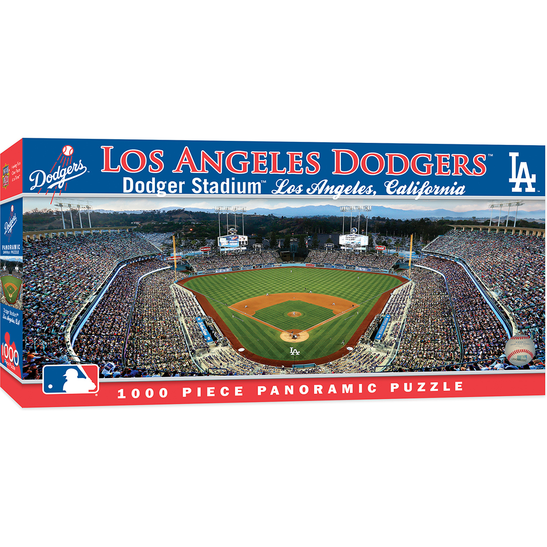 Los angeles dodgers 1000 piece stadium panoramic jigsaw puzzle mlb los angeles dodgers buycottarizona Image collections