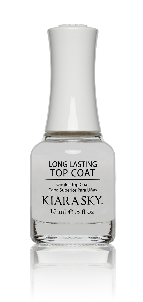 NAIL LACQUER TOP COAT - LONG LASTING - Kiara Sky Professional Nails ...