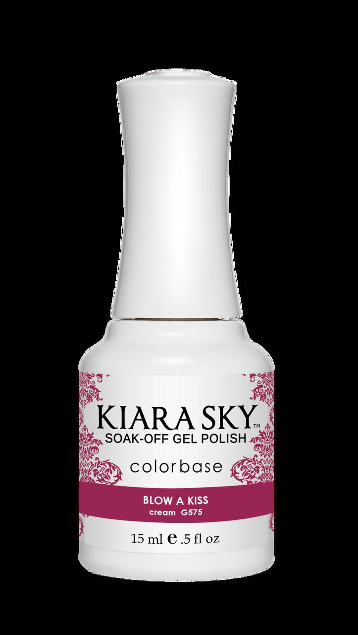 GEL POLISH - G575 Blow a Kiss - Kiara Sky Professional Nails Ireland