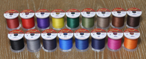 STWRAP - Stretch Rod Wrapping Thread (Nylon 17 Color 100yd Complete Pack)