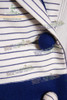 Edwardian Era Titanic Rose's Blue & White Jacket & Long Skirt Travel Outfit