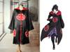 Naruto Cosplay Akatsuki Costume Hooded Cloak