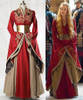 Game of Thrones (TV Series) Cosplay, Cersei Lannister Gown & Corset Costume Set