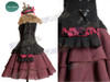 Soul Series/Soul Calibur 4 Cosplay Amy Sorel Costume Set