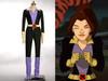 X-Men Cosplay, Shadowcat Kitty Pryde Costume Set