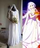 Fate Zero Cosplay Irisviel Von Einzbern Wedding Dress Bride Costume