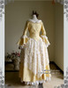 Back View (Golden Brocade + White Ver.)