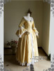 Front View w/o Skirt Piece (Golden Brocade + White Ver.)