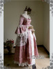 Side View (Pink Brocade + White Ver.)