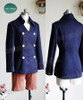 Hunter x Hunter Cosplay, Neferpitou Uniform Jacket & Shorts Costume Set