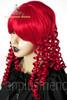 Last Chance: Victorian Lolita/Aristocrat Gothic:Small Vertical Curls Coil Wig*Fire Red