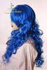 Last Chance: Gothic Lolita:Large Wavy Curls Long Wig*Navy Blue