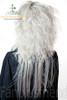 Last Chance: Visuak Kei Punk/Princess/Kodona Dandy Ouji/Cosplay:Smoke Slight Shock Curl Back Long Neat Bang Wig*Silver