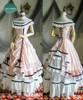 Dress+ Skirt Set, with petticoats inside look