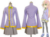 Orange Juice Cosplay, Sora Costume School Uniform Outfit