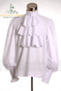 Optional items:   white shirt, made by cotton, frilly collar and cuffs, ruffle jabot: TP00081 $39.14