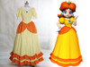 Disney Super Mario Bros. Cosplay, Princess Daisy Costume Outfit