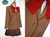 Tsukihime Shingetsutan Cosplay Aoko Aozaki School Uniform Set