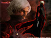 Devil May Cry Cosplay: Dante's Dark Red Corduroy Costume Set
