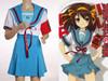 The Melancholy of Haruhi Suzumiya Cosplay,Haruhi Suzumiya School Uniform Set