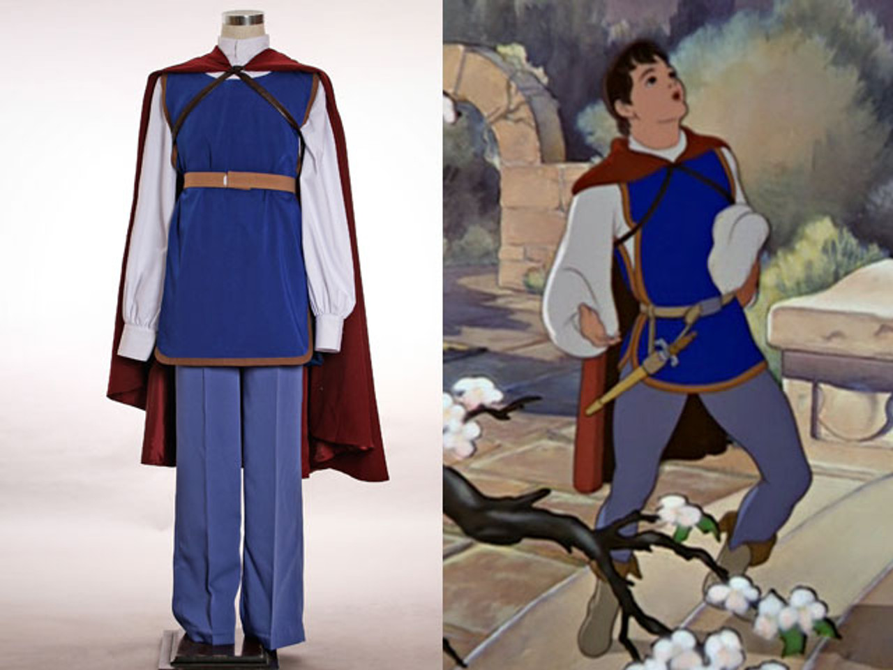 sc 1 st  Fanplusfriend Cosplay & Disney Snow White and the Seven Dwarfs Cosplay Prince Costume