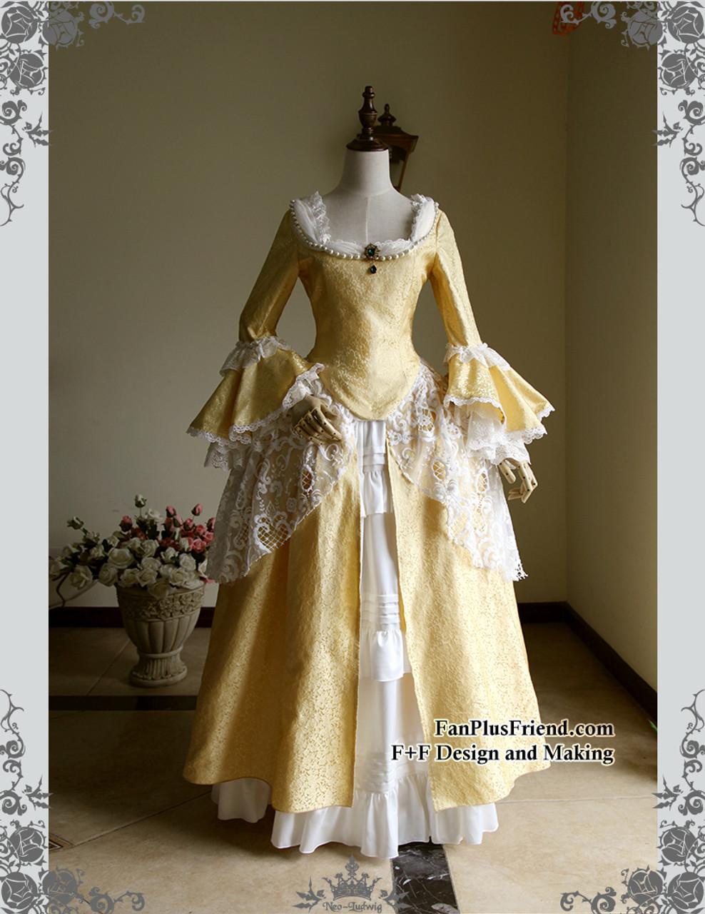 Victorian Dresses 18th Century Masquerade Fancy Dress Handmade Women ...