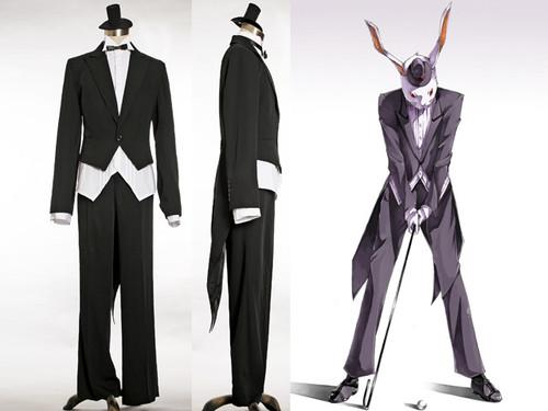 Gothic for Man, Mr. Bunny's Tuxedo Butler Suit*4pcs