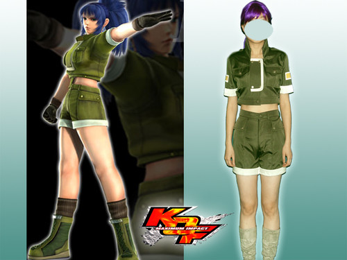 King of Fighters Cosplay/party, Leona's costume