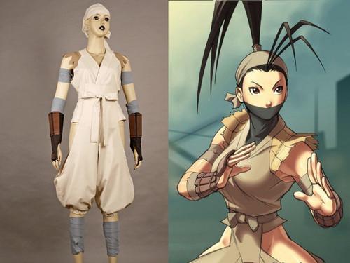 Street Fighter Cosplay, Ibuki Costume Set