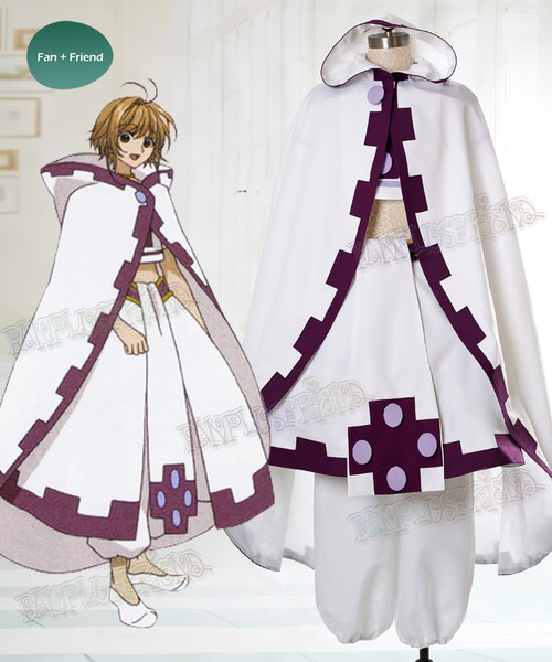 Tsubasa Reservoir Chronicles Cosplay Sakura Costume Set
