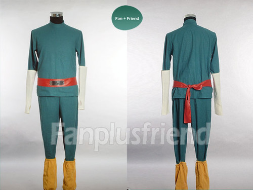 Naruto Cosplay, Rock Lee Costume Set
