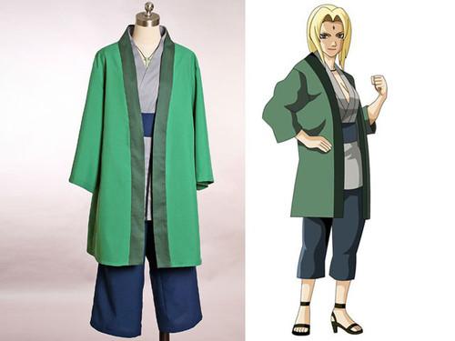 Naruto Cosplay, Tsunade Costume Set