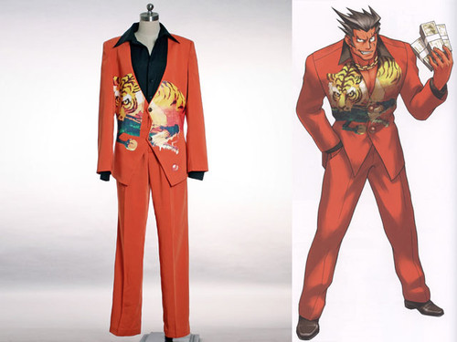"Phoenix Wright Cosplay, Furio ""The Tiger""  Costume"