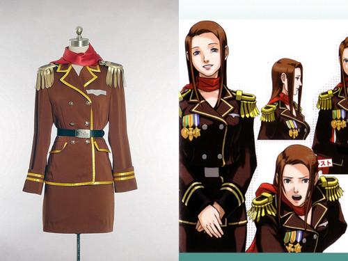 Phoenix Wright: Ace Attorney/Gyakuten Saiban Cosplay, Lana Skye/Tomoe Houzuki Costume