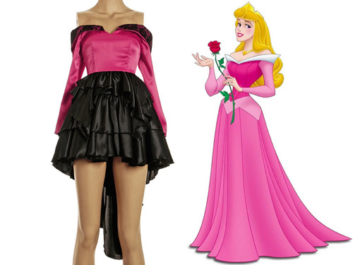 Disney Sleeping Beauty Inspired Cosplay, Princess Aurora Costume dress