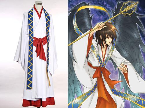 Tactics Cosplay,Onikui Tengu Haruka Kimono Gowns Set