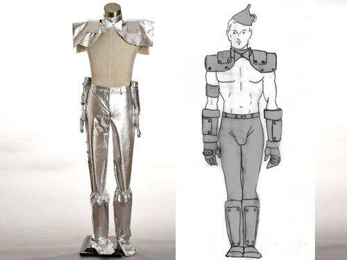 Wizard of Oz Cosplay, Tin Man Costume