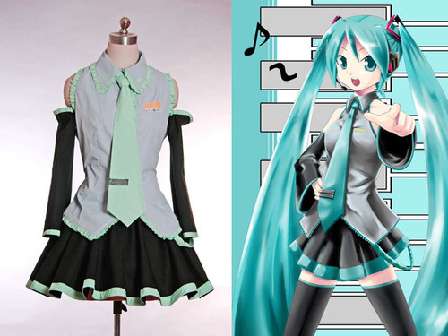 Vocaloid 2 Cosplay, Miku Hatsune Outfit