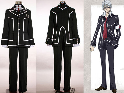 Vampire Knight Cosplay, Night Class School Uniform Set*2colors Man Version